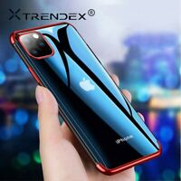 Trendex Shockproof Plating Clear Slim Case Cover For iPhone 11 Pro Xs Max XR 7 8