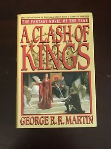 **A CLASH OF KINGS SIGNED AUTOGRAPHED BY GEORGE R.R. MARTIN**