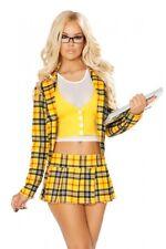 Colegialas disfraz School Girl amarillo Weiss estudiante alumnos made in USA