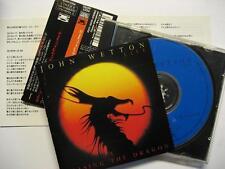 "JOHN WETTON ""CHASING THE DRAGON LIVE"" - JAPAN CD - OBI"