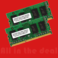 8GB Kit 2x 4GB DDR3 1600 MHz PC3-12800 1600Mhz Laptop RAM Sodimm Memory