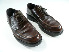 Mens Bass Dress Shoes US Size 11M Keenan1Y57 Brown Lace Up Leather Upper