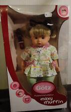 Götz Puppe Maxy Muffin mit Katzenohren Harreif ca. 42 cm. mit Stoffkörper