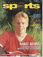 1995 SAKU KOIVU RC MAGAZINE: RDS SPORTS , VOL 3 NO 9, MONTREAL CANADIENS FRENCH