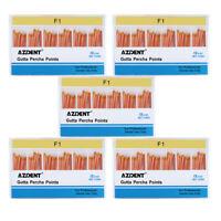 5Packs Dental Gutta Percha Points Tips F1 For Universal Dental Use 60pcs/box