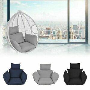 Garden Egg Chair Seat Pad Swing Hanging Chair Cushion Indoor Outdoor Patio Mat