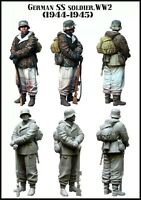 1/35 WW2 RESIN MODEL KIT FIGURE GERMAN WAFFEN SS SOLDIER (1 TOP QUALITY FIGURE)