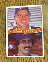 1984 Donruss Living Legends (A) Perry & Fingers