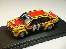 FIAT 131 ABARTH GR4 N°9 MONTECARLO 1980 ANDRUET / BICHE BUILT UP PINKO 1/43