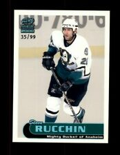 1999-00 Paramount Holographic Emerald #6 Steve Rucchin 35/99 (ref 101952)