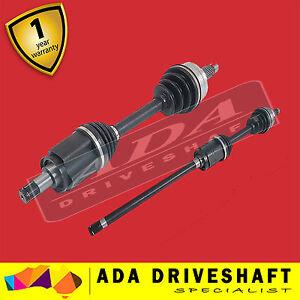 2 BRAND NEW CV JOINT DRIVE SHAFT BMW X5 01-07 Pair1