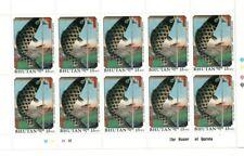Bhutan 1990 855 - Hiroshige Art - Block of 10- 15NU - MNH