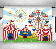 Circus Carnival Party 7X5FT Vinyl Photography Photo Background Studio Backdrop