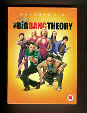 The Big Bang Theory. Complete seasons 1-5. Brand new/sealed DVD Box Set