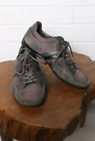 Hugo Boss Mens Leather Light Trainers Lace Up Pumps - Brown - Size 43 (L-BX2)