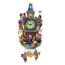 Halloween Spooktacular Disney Mickey Cuckoo Clock  - Bradford Exchange
