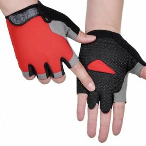 Cycling Half-finger Gloves Male Fitness Outdoor Sunscreen Non-slip Breathable