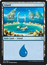 Magic the Gathering 10 FOIL ISLANDS mtg basic land cards NM blue mana