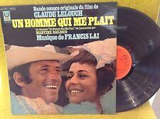 rare LP BO OST - UN HOMME QUI ME PLAIT - mus FRANCIS LAI - Martine BAUJOUD-90899