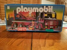 Sunset Express Tractor Trailer Playmobil #3817   RARE Vintage NIB  MUST SEE!