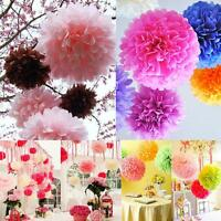 5/10/20 Tissue Paper Pompoms -3 Sizes- Pom Poms Balls Wedding Party Decorations