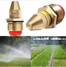 "1/2"" DN15 Adjustable Water Flow Brass Spray Misting Nozzles Garden Spray Head"