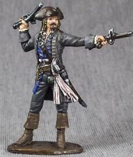 Painted Figure Pirate 1/32 Captain Jack Sparrow Hand Quality Toy Soldiers 54mm