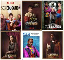SEX EDUCATION TV SERIES movie films comedy print/poster A4/A3