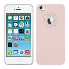 kwmobile Schutz Hülle für Apple Iphone 5 5S Love Rosa Case Cover Bumper Handy