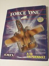 ERTL FORCE ONE 1160 A-10 Thunderbolt WARTHOG, 1989 Die Cast Model NEW
