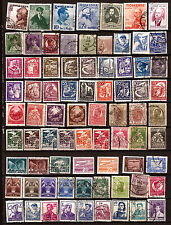 ROUMANIE 75 timbres usages courants,sujets divers F91
