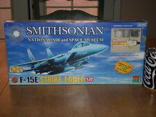 F-15E Strike Eagle, USA - Jet Fighter Plane, Plastic Model Kit + Paint,  1:72