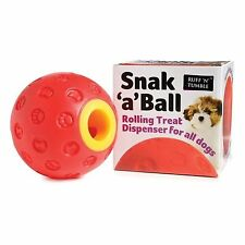 SNAK A BALL TREAT DISPENSING BALL FOR DOGS (Keep them Amused)
