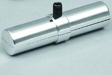 Innenrohrverbinder für Rundrohr Ø25mm, mit Bund und Feststellschraube, chrom