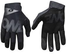 Gants noirs textile pour motocyclette filles et garçons