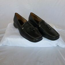 Womens Shoes Easy Spirit Loaferd Leather Upper Black Size 8.5 B