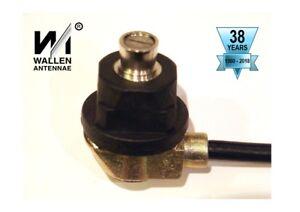 Wallen DELTA Series Through Hole Antenna Mount 5m RG58c/u MIL-C-17 (0-4mm Panel)