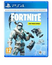 Fortnite: Deep Freeze Bundle + 1000 V-Bucks - PS4 Playstation 4 - NEU OVP