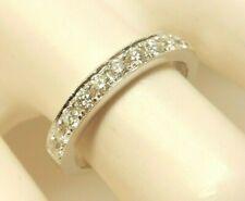 Authentic Women's SIMON G. 18K White Gold .40 Ct. T.W. Diamond Wedding Band Ring