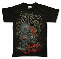 Slayer Murder Is My Future Black T Shirt New Official Band Music Small S