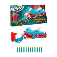 Kids NERF Dinosaur Dart BlasterGun DinoSquad Tricera-Blast Toy Gun Unlimited Fun