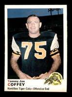 1970 O-Pee-Chee CFL #13 Tommy Joe Coffey  NM X1421190