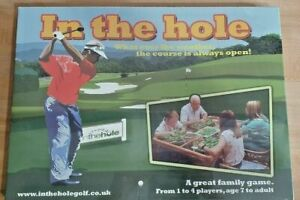 In The Hole - Golf Board Game BNIB ~ NEW AND SEALED Creative Games Fast Dispatch
