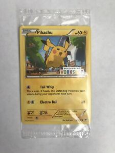 B-A-B  Pokémon Pikachu  Promo   Card  New Sealed