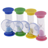 Toothbrush swivel sand timer 2 minutes shower timer kids mini glass sand cloc SO