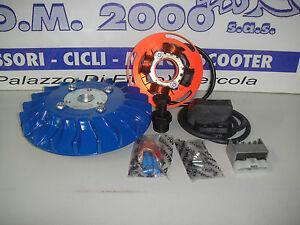 Accensione elettronica Completa di Volano Parmakit  PX 125 150 blu Kg 1.5