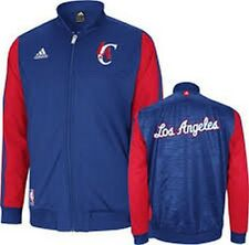 Los Angeles Clippers NBA Adidas On-Court Warm up Jacket NWT LA Clips Basketball