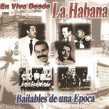En Vivo Desde Habana: Bailables De Una Epoca