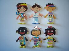 KINDER SURPRISE SET - KIDS CULTURES OF THE WORLD 94 - FIGURES TOYS COLLECTIBLES