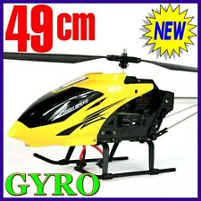 RC 3 GYRO New Remote Control Metal Frame Helicopter 3.5CH BIG not mini Gift YELW